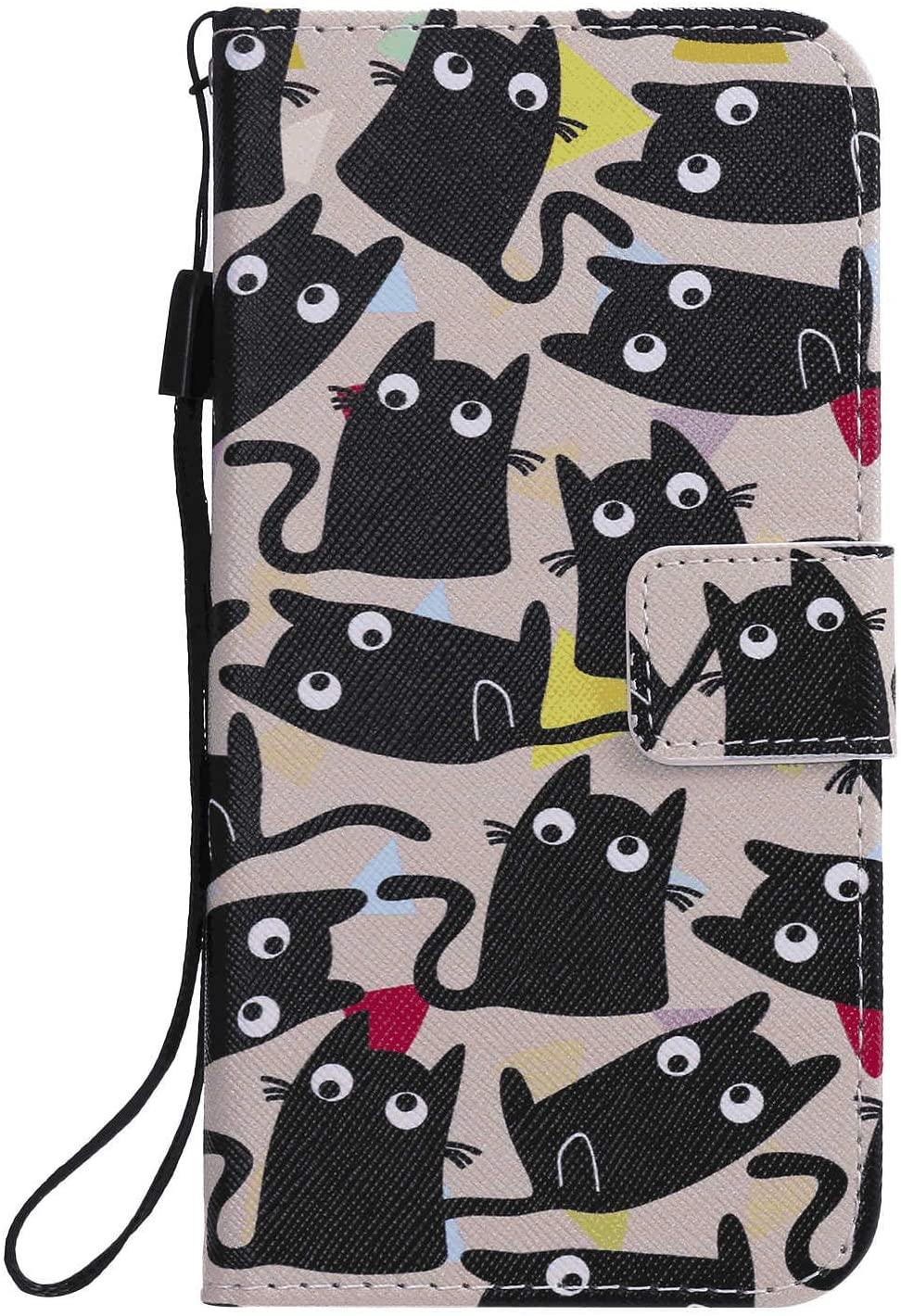아이폰 11 의 아이폰 11 스마트폰과 호환이 되는 사업 지갑 덮개를 위한 내진성 가죽 손가락으로 튀김 상자