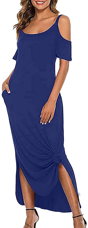 여성 캐주얼 맥시 드레스 STRAPLESS 맥시 꽃 드레스 분할 어깨 긴 파티 드레스 슬링 슬릿 드레스 SUNDRESS