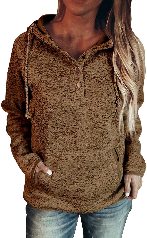 여성을위한 크리스마스 셔츠 긴 소매 탑 격자 무늬 후드 스웨터 드로스트링 포켓 풀오버 셔츠 후드