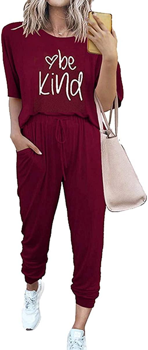 FLORALMIA 여성 인쇄 두 조각 복장 긴 소매 풀오버 탑스와 긴 바지 SWEATSUITS TRACKSUITS 포켓