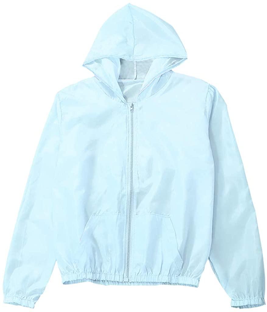 LUMUMI 태양 보호 외투 여자를 위한 UV 보호 여름 옥외 태양 보호 재킷 정상