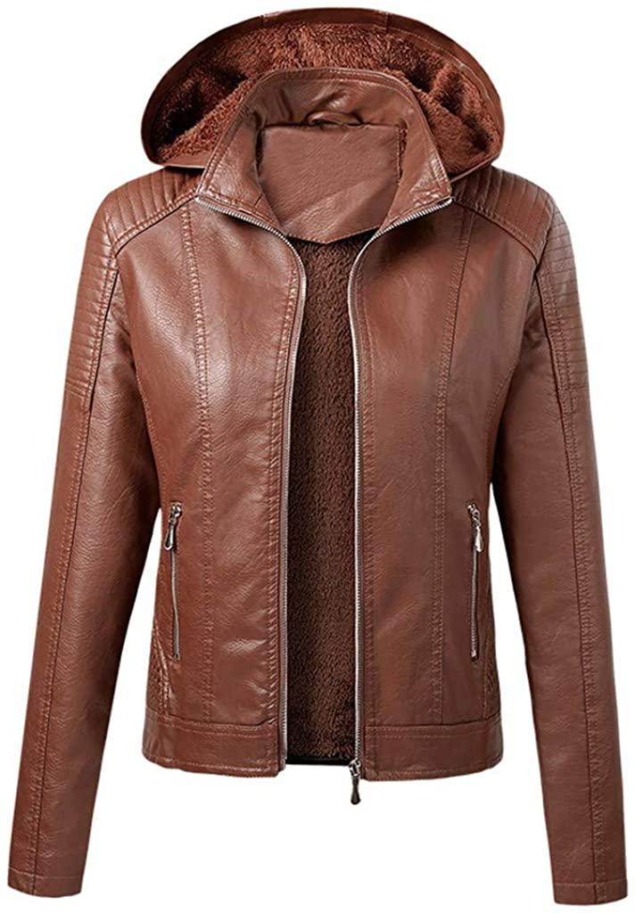 SERYU 여성 운동복 버튼 슬림 지퍼 긴 소매 폭격기 재킷 따뜻한 벨벳 코트