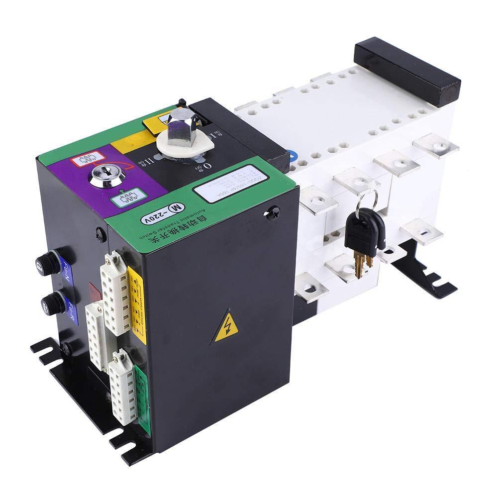 전력 공급 위치를 위한 지적인 이중 힘 자동적인 전환 스위치 절연제 유형 160A4P