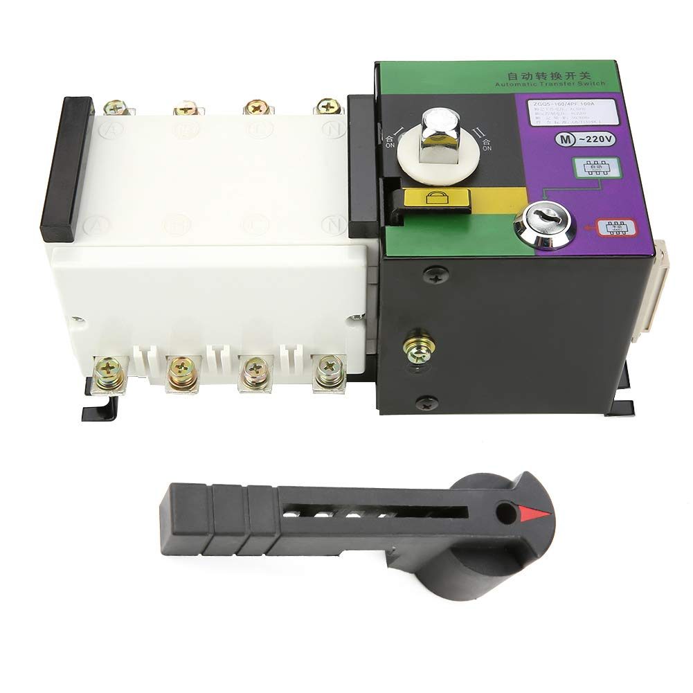 고정밀 체인지 오버 스위치 자동 전송 스위치 듀얼 전원 유연한 100A4P 전원 공급 장치 시스템 전기