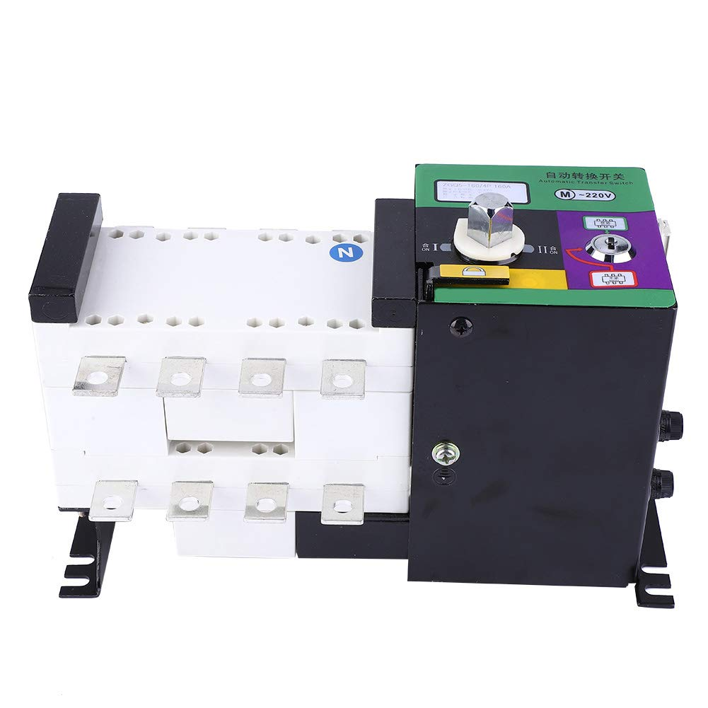 4P 절연 유형 듀얼 전원 자동 전송 스위치 160A 고정밀 유연한 변경 스위치 전원 공급 장치 장소