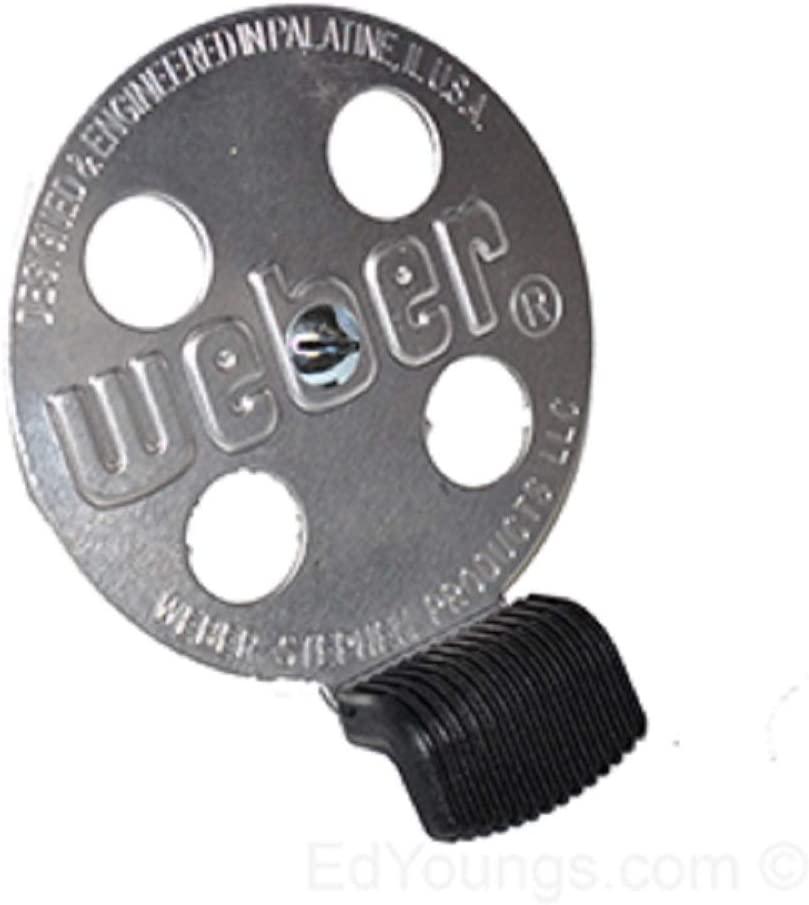 WEBER BAR-B-KETTLE CHARCOAL PERFORMER TOUCH-N-GO 교체 가스 그릴 댐퍼 키트 63070