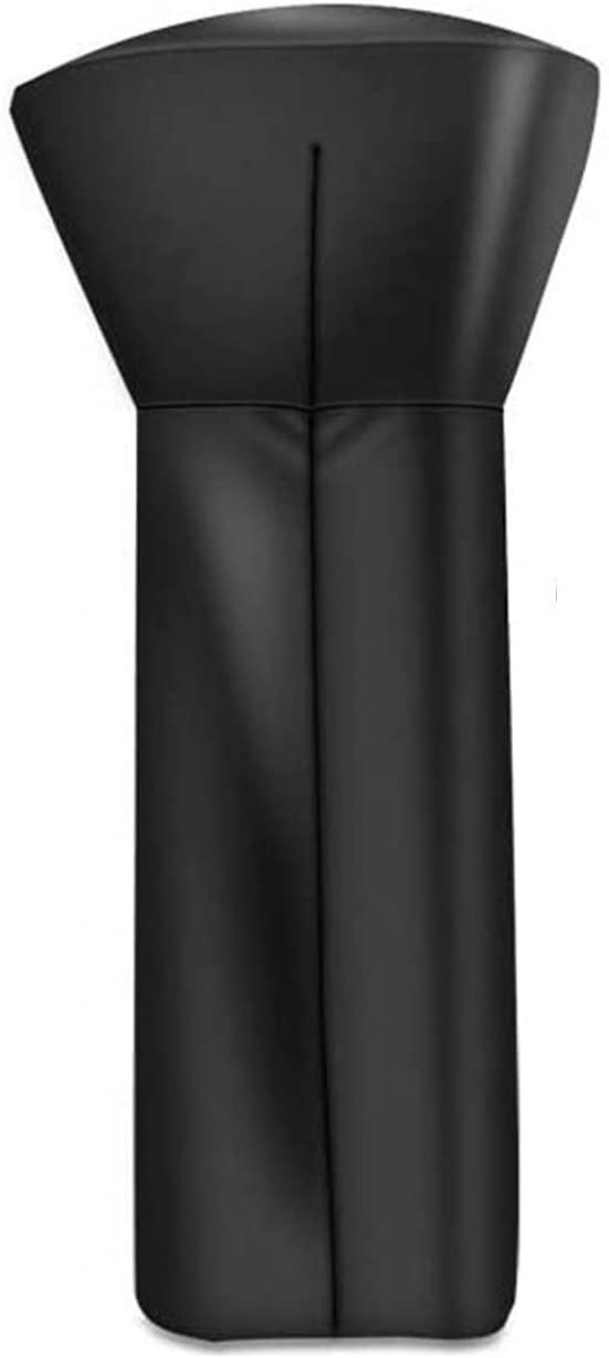 VISLONE 파티오 히터 커버 210D 방수 옥스포드 패브릭 지퍼 라운드 히터 커버