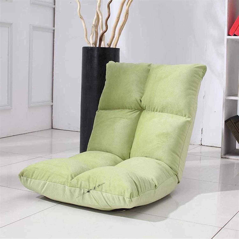 에릭 시안 제로 중력 라운저 가구 접이식 바닥 의자 작은 접이식 조절 가능한 6위치 폼 플로어 의자 백 서포트 및 게이밍 명상 시청 실내 의자 (색상 : D) (색상 : F)