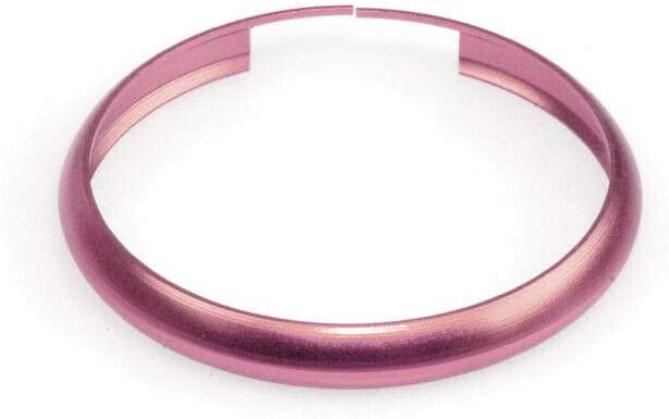 포로모터 동창 스마트 키 포브 링 림 트림 커버 커버 커버 핑크미니 쿠퍼