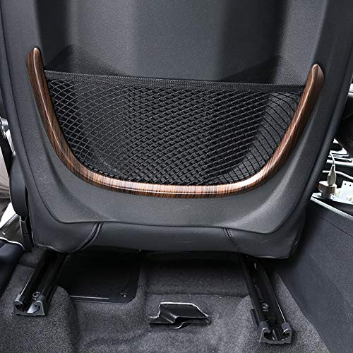 PINE WOOD GRAIN FOR BMW X1 F48 2016-19 ABS REAR BACK NET FRAME COVER TRIM FOR BMW 2 SERIES 218I F45 F46 FOR BMW X2 F47 2018 2019