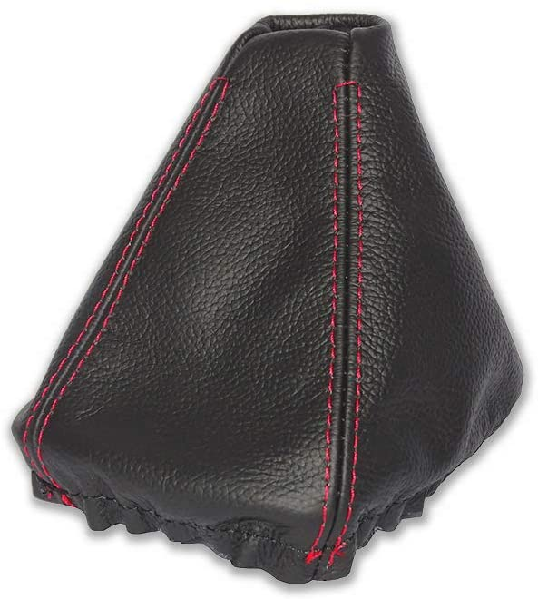 THE TUNING-SHOP LTD SHIFT BOOT COMPATIBLE BMW Z3 LEATHER RED STITCHING