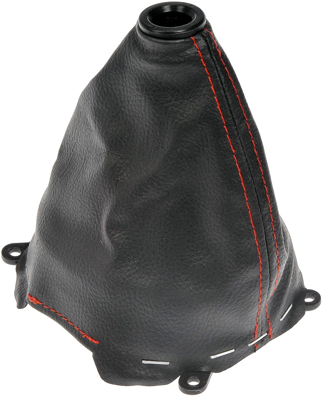 DORMAN 76802 SHIFT BOOT BLACK RED STICH