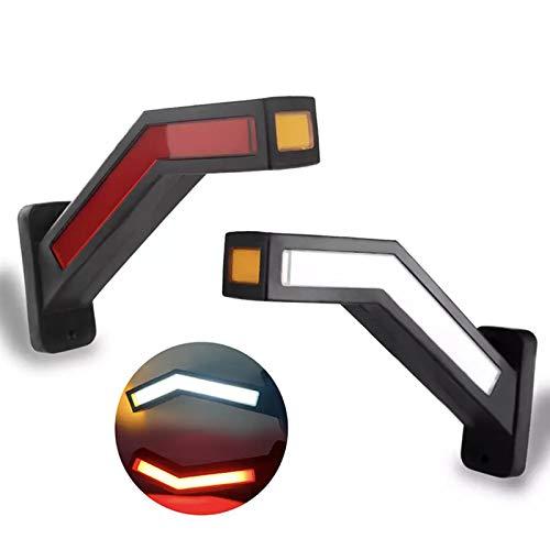트레일러 LED 사이드 마커 12-24V 조명 개요 마커 트럭 빛 밴 LED 라이트 트레일러 사이드 마커 라이트