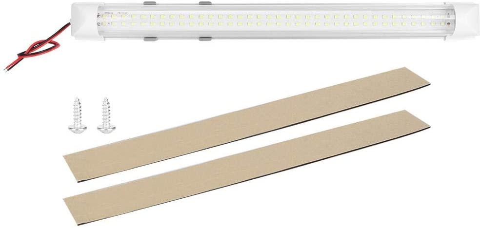 두오콘 IP45 72LED 리딩 라이트 램프 튜브 액세서리 캐비닛 옷장 자동차 캐리지 DC12-24V 500LM 양면 테이프 및 나사 액세서리