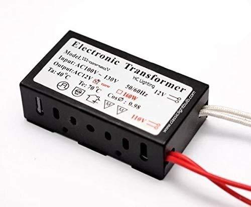 할로겐 | XENON | 지도 120 와트 최대 부하(120 볼트 입력)(12 볼트 출력)경제 전자 변압기 콤팩트형 케이싱을 위한 최대의 호환성으로 비품