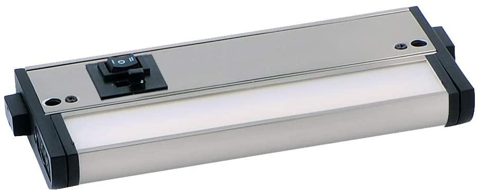 6 에서. 카운터 맥스 MX-L-120-3 천개 기본 2700-4000 천개 LED 밑에 캐비닛 44새틴 니켈