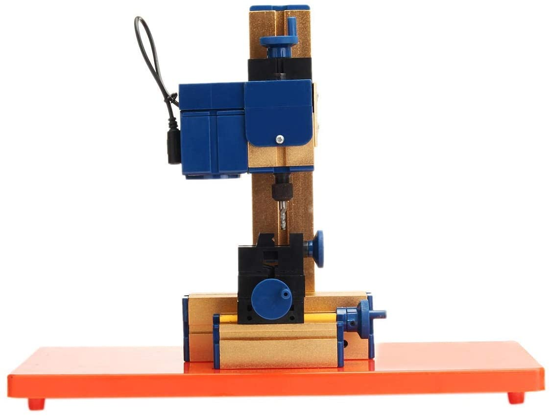 CHENBZ WOOD LATHES TOOLS 24W DC 12V 2A MINI ELECTRIC WOODWORKING LATHE WOODWORKING MILLING MACHINE HOBBY DIY WOODWORKING TOOLS