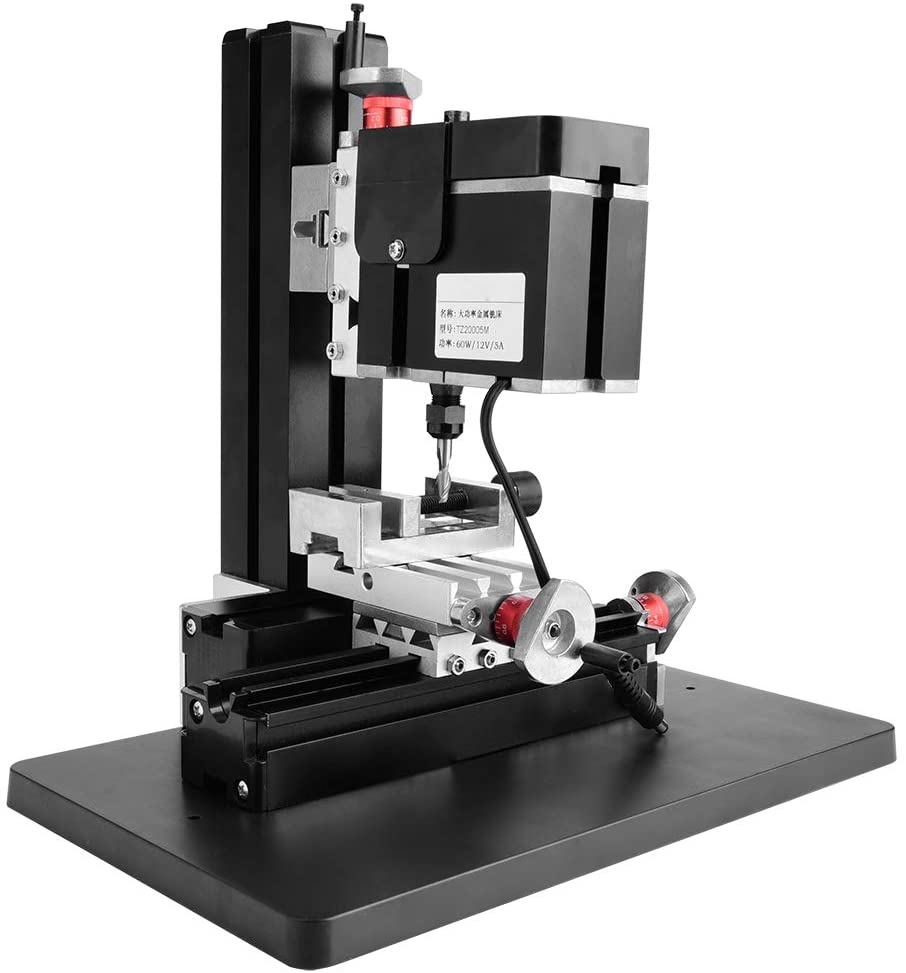 SCALE LINES 12VDC   5A   60W MINI 0.02MM ACCURACY MINI MILLING LATHE HIGH ACCURACY ELECTRICITY FOR INDUSTRY MECHANICAL