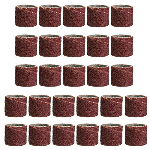 DOCUNAH 338PCS | SET 1 | 4 3 | 8 1 | 2 80-320 GRIT SANDING DRUM KIT ABRASIVE ROTARY TOOLS