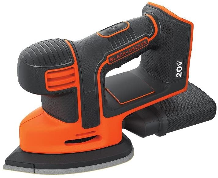 BLACK+DECKER 20V MAX MOUSE SANDER TOOL ONLY (BDCMS20B)