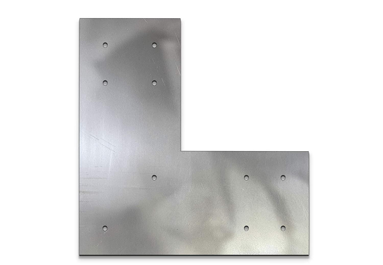 6X6 포스트 6X6 L 지원 브래킷 퍼골라 브래킷 6 인치 포스트 브래킷 6X6 L 브래킷 트러스 플레이트에 대한 구조 디자인 L 브래킷