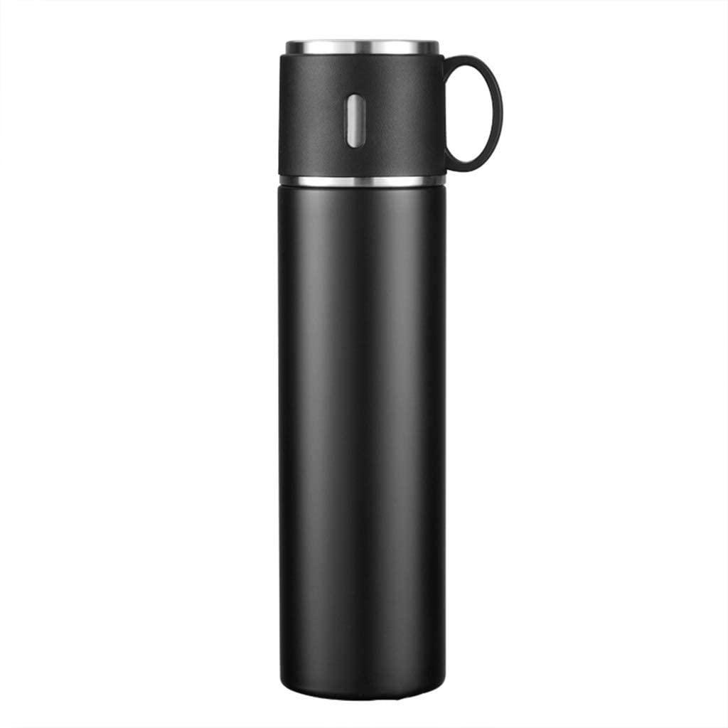 믿고 스스로 물컵 데리고 컵 야외 절연 주전자 316 스테인리스 망 빨간색 절연 컵 580ML 절연 24 시간(색:C)