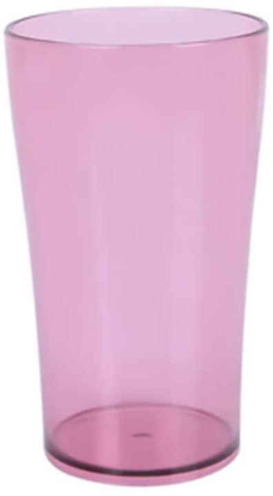 XIAOQIYAN 세척 컵 커플 홈 투명 플라스틱 칫솔질 컵(색상:레드)