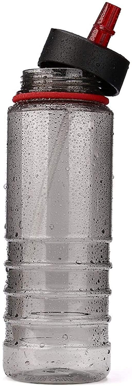 LUXMAX 절묘한 스포츠 물 컵 800ML 의 음료 병을 커버 컵 투어 음료 스포츠 수분을 짚 물병 자전거 하이킹을 자전거 자전거스 스포츠 플라스틱 컵 048(색상:D)(색상:D)