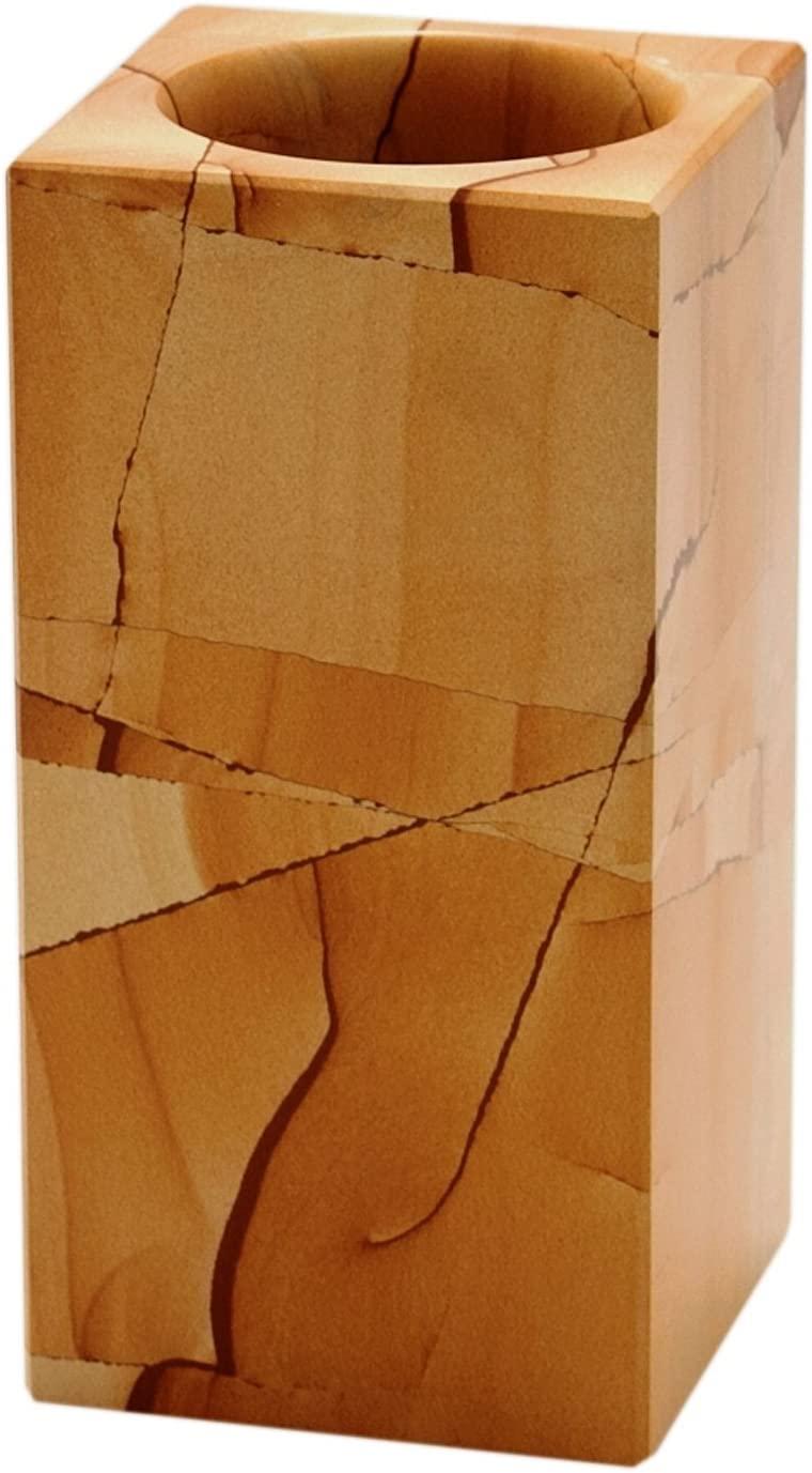 대리석 CRAFTERS BA02-2TS 티크 스톤 스퀘어 스타일 텀블러에 의해 디자인