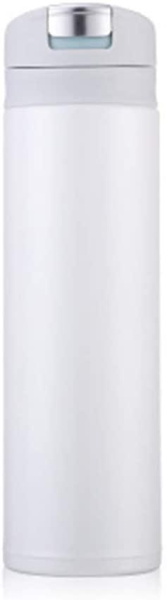자신을 믿어 크리 에이 티브 간단한 단색 보온병 컵 여성 학생 귀여운 미니 신선한 컵 자동차 휴대용 컵(색상:C)