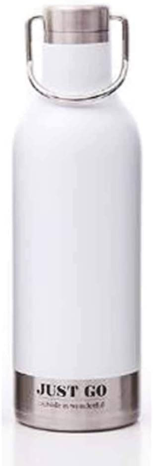 자신을 믿어 야외 스포츠 파일 문학 대용량 304 스테인리스 격리 컵을 처리한 휴대용 드롭 방지 신선한 컵(COLOR:C)