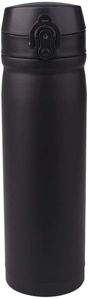 자신을 믿고 스테인레스 스틸 진공 머그잔 컵 물 컵 남자 스포츠 특별 핸드 컵 입 컵(색상:A)
