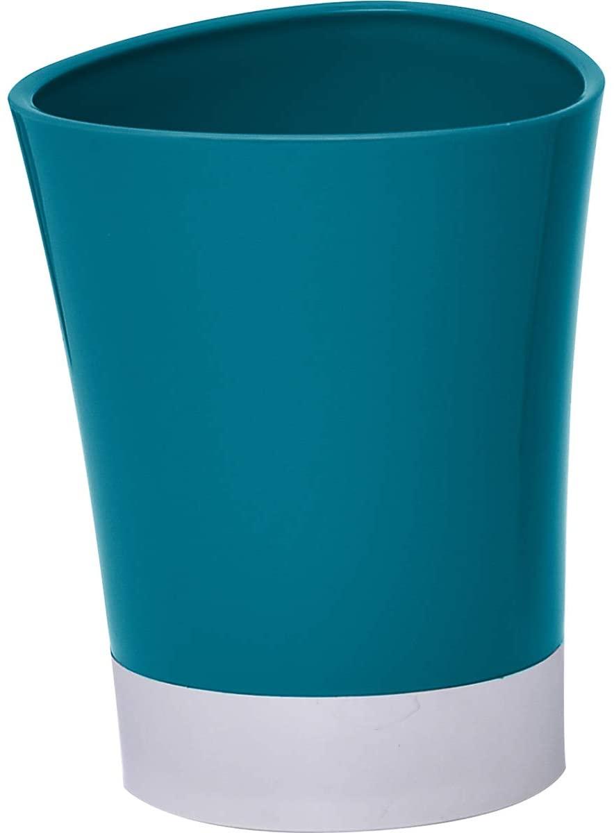 EVIDECO 목욕 텀블러 칫솔 홀더 크롬베이스-공작 블루 6118N119