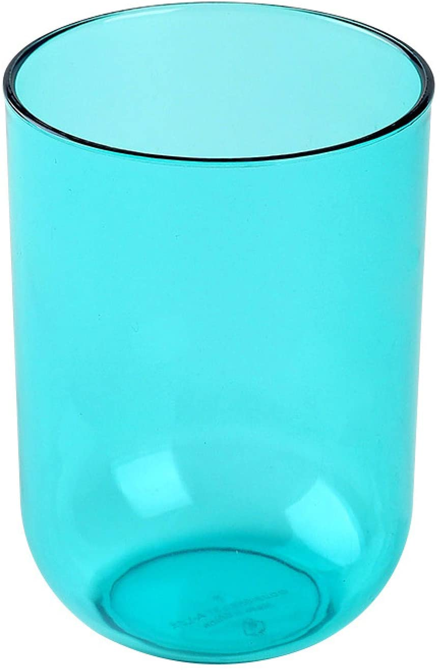 U | D 치아 컵 세척 한 부 칫솔 컵 욕실이 구강 세척제 컵 투명한 플라스틱 컵 유아를위한 아이 커플 선물 친구