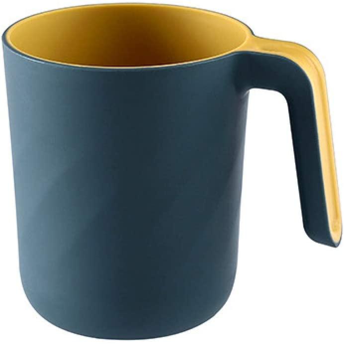 U | D 치아 컵 크리에이티브 2 색 치아 칫솔질 컵 편리한 구강 세정제 더블 레이어 워시 컵 플라스틱 컵 유아 어린이 커플 친구 선물