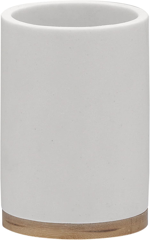 SEALSKIN GRACE 칫솔 홀더 7 3X10 6X7 3 센티미터 백색