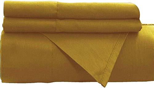 엠파이어 홈 골드 플랫 시트 페르시아어 1800 컬렉션 탑 시트 링클 프리 뉴오(트윈)