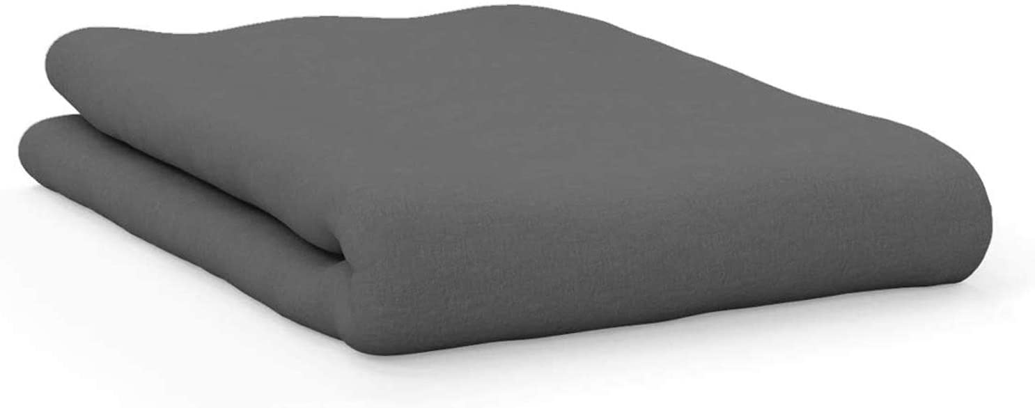 AMERICAN PILLOWCASE COLLEGE DORM 트윈 XL 침대 플랫 매트리스 시트 울트라 소프트 저자 극성 주름없는 얼룩 및 퇴색 방지-회색 PMS424