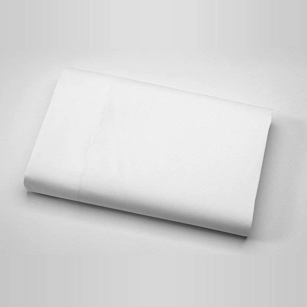 판매 최고 무거운 품질 1200-TC(1-피스)평판 아마존에서 멋진 흰색 매우 부드러운 이집트산 면 솔리드 패턴 평면 전체 시트 XL 크기(81X102)