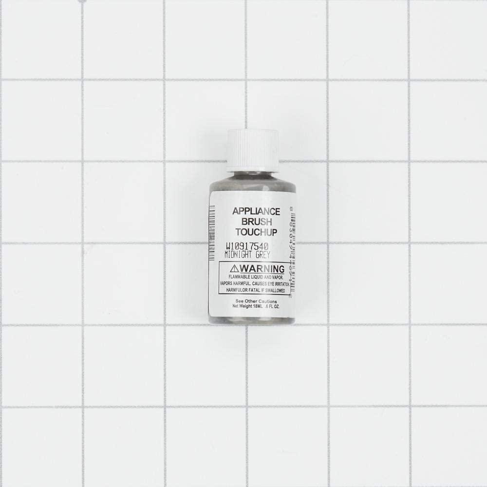월풀 W10917540 자정 회색 기기 터치 업 페인트