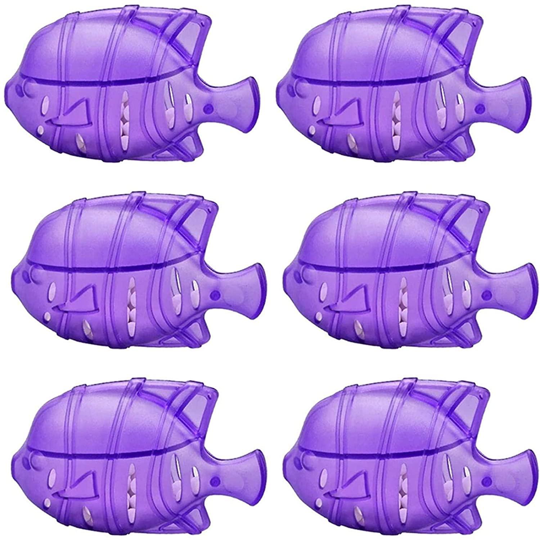 6 개 범용 가습기 청소기?물방울 사랑 스럽다 따뜻한&시원한 안개 가습기 물고기 탱크와 호환.(보라색)