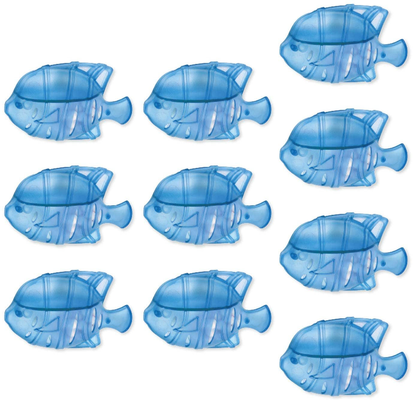 POWSTRO K 범용 가습기 클리너 어항 청소 필터 대부분의 가습기에 적합한 물고기 청소 어항 물 탱크와 호환 가능 수영장 10PECS(BULE)