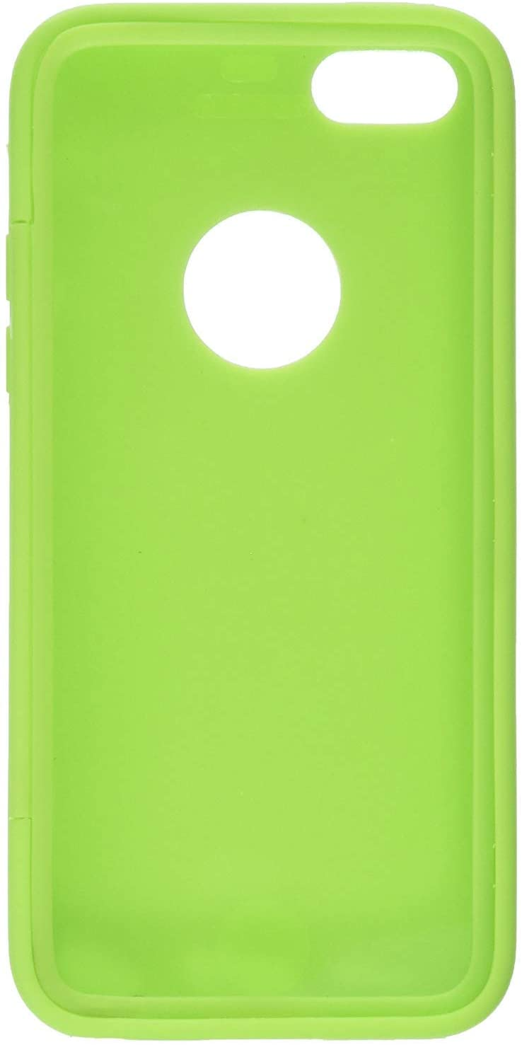 애플 아이폰 5C에 대 한 화면 보호에 내장 된 녹색 젤 슬림 TPU 보호 커버 케이스