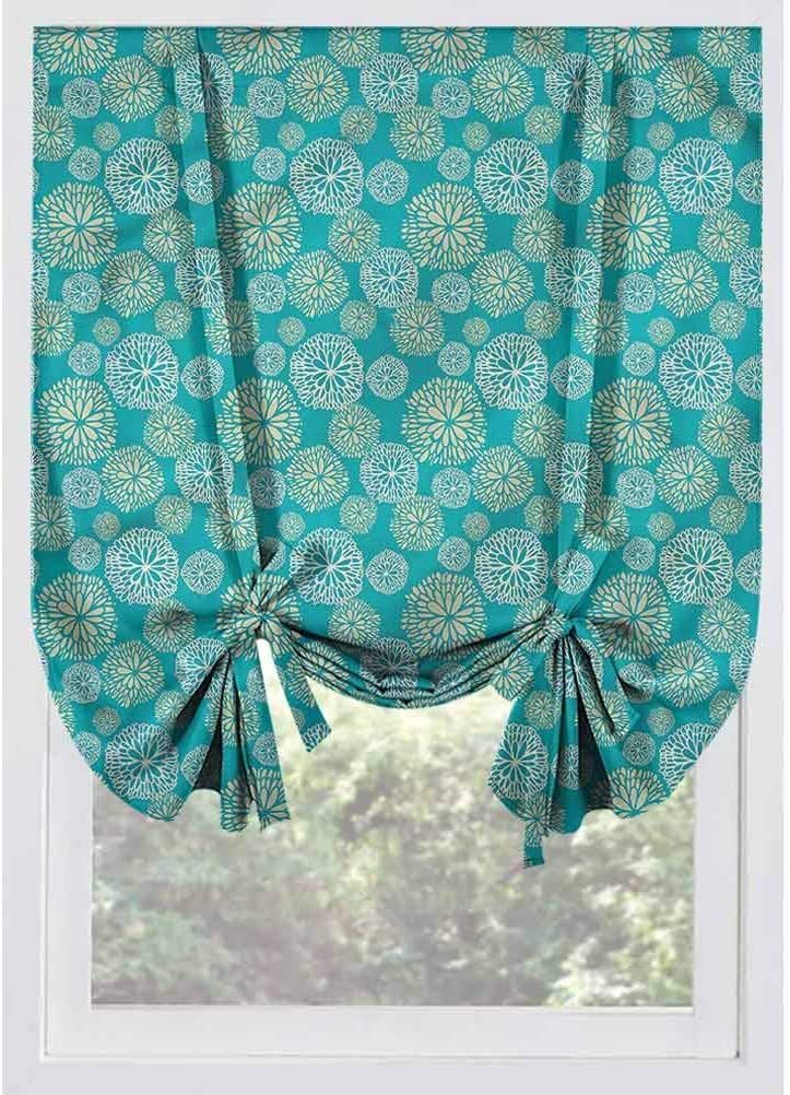 LCGGDB TEAL BLACKOUT ROMAN CURTAIN DAISY A CARNATIONS ART ROOM DARKENING ROD POCKET CURTAINS BALLOON SHADES FOR SMALL WINDOWS DOORS FRENCH DOORS KITCHEN WINDOWS 48X63
