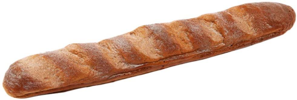 BESPORTBLE 긴 가짜 바게트 빵 인공 호밀 빵 시뮬레이션 식품 모델 디스플레이 사진 소품 (라이 바게트 빵)