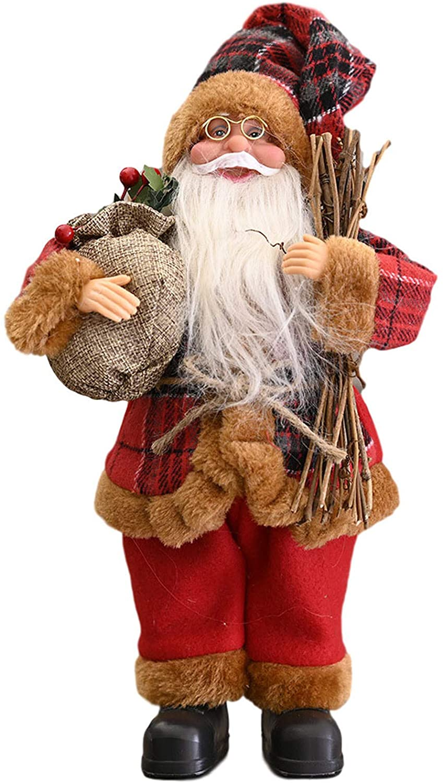 XUELILI 크리스마스 장식 산타 클로스의 인형 인형 장난감(입상 스타일)