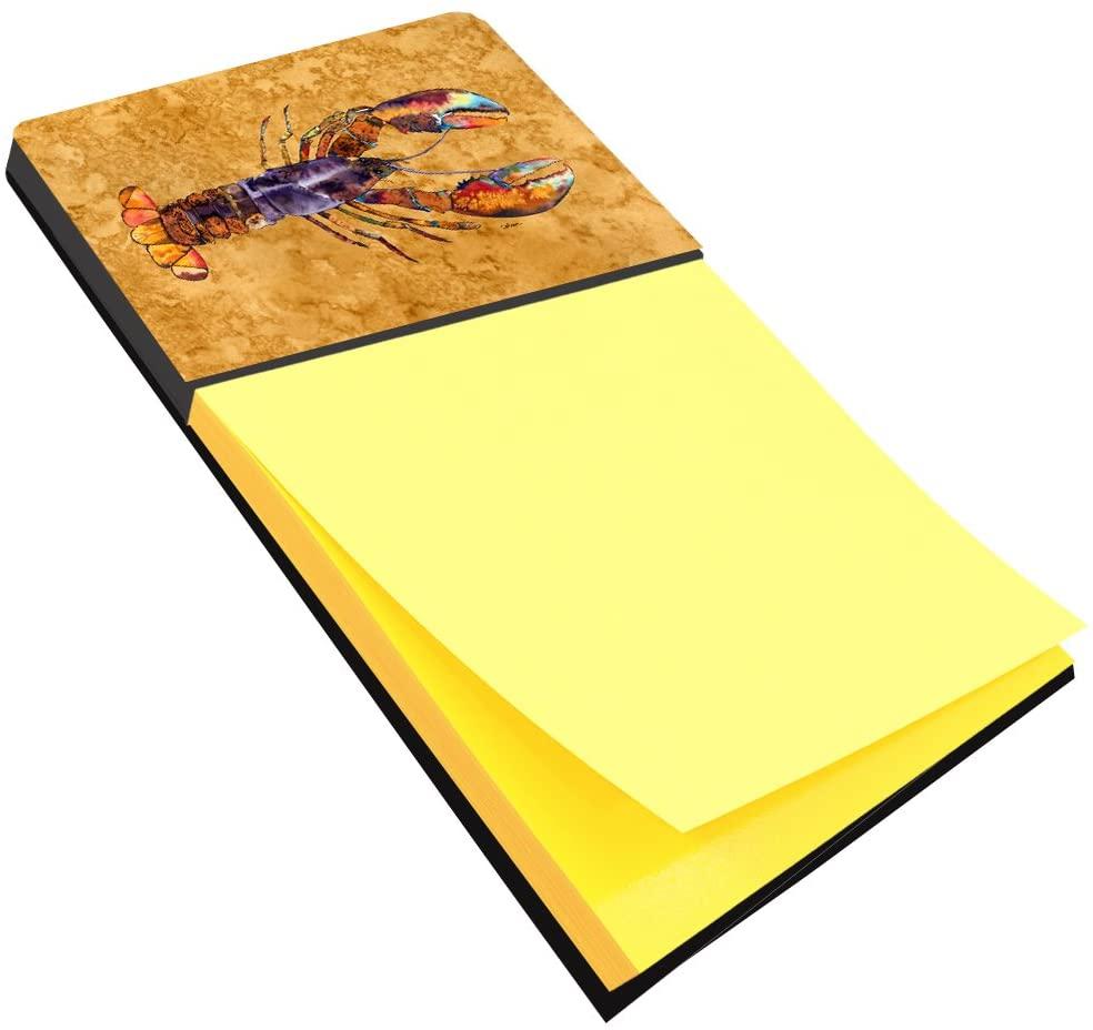캐롤라인의 보물 8716SN 랍스터 리필 스티커 메모 홀더 또는 POSTIT 노트 디스펜서 대형 여러 가지 빛깔의