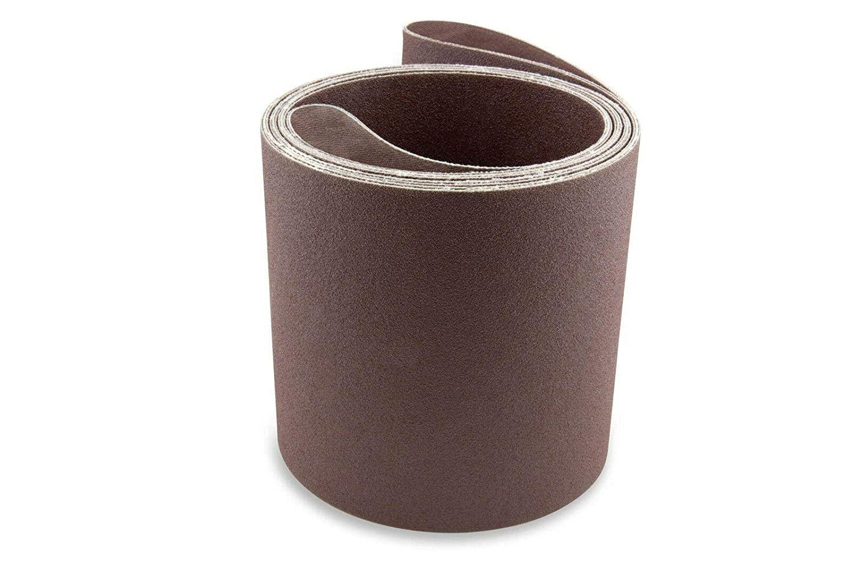 6X108INCH100 모래 알루미늄 산화물 다목적용 모래로 덮는 벨트 2 팩-샌더 벨트-샌더 툴 모래는 종이-알루미늄 산화물 모래로 덮는 벨트-모래로 덮는 벨트