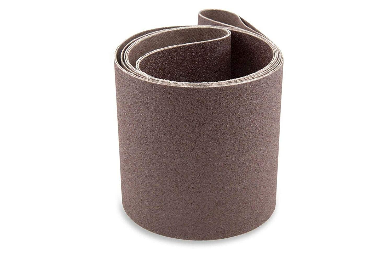 4X52 1   2INCH100 모래 알루미늄 산화물 다목적용 모래로 덮는 벨트 팩 3-샌더 벨트-샌더 툴 모래는 종이-알루미늄 산화물 모래로 덮는 벨트-모래로 덮는 벨트