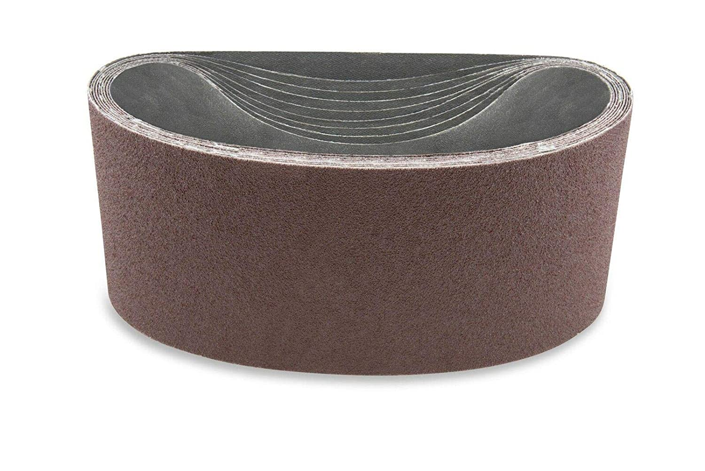 3X132 인치 150GRIT 알루미늄 산화물 다목적용 모래로 덮는 벨트 4 팩-샌더 벨트-샌더 툴 모래는 종이-알루미늄 산화물 모래로 덮는 벨트-모래로 덮는 벨트